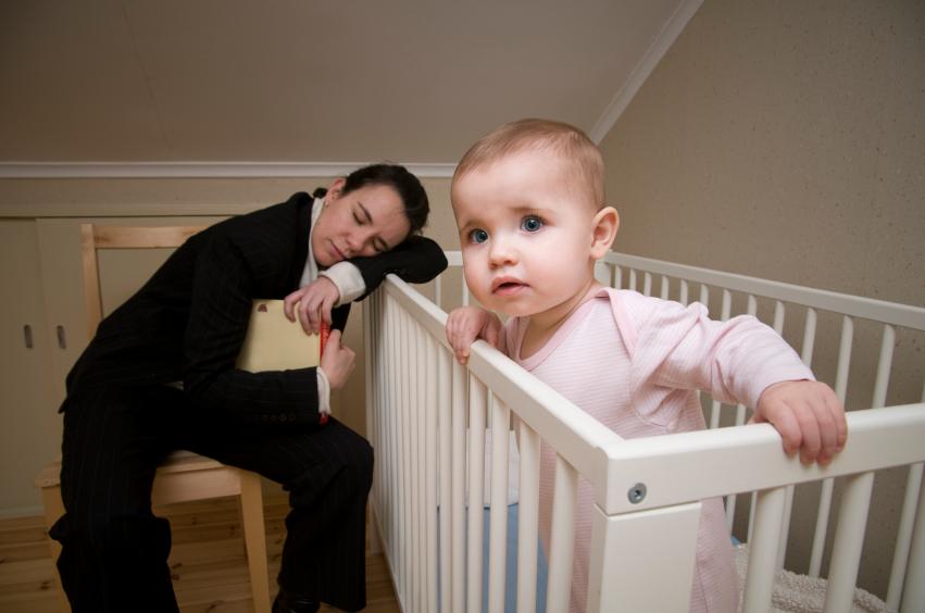 Sleep disturbances in babies